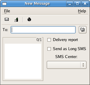 How to Send SMS Text Messages with XGnokii on Linux